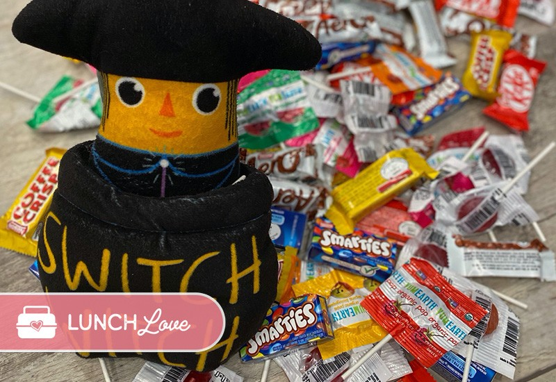 Halloween Candy Exchange Switch Witch Lunch Love